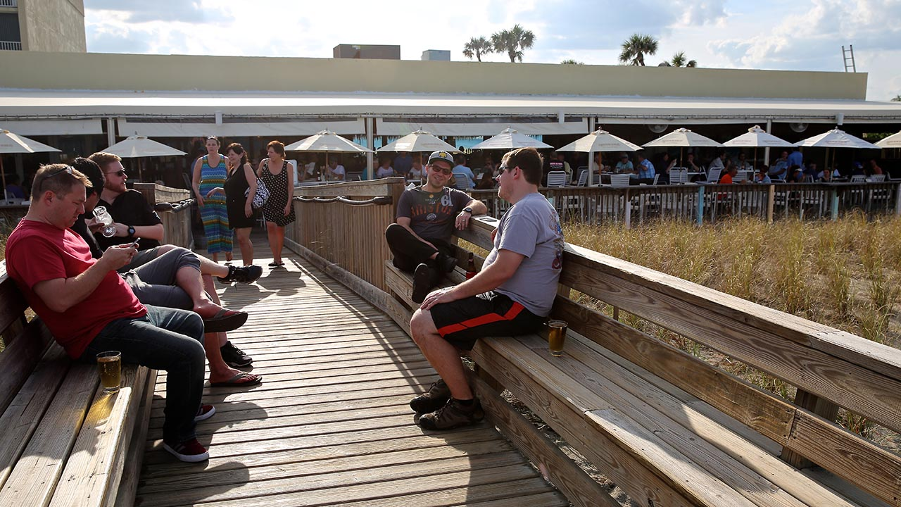 boardwalk at shuckers